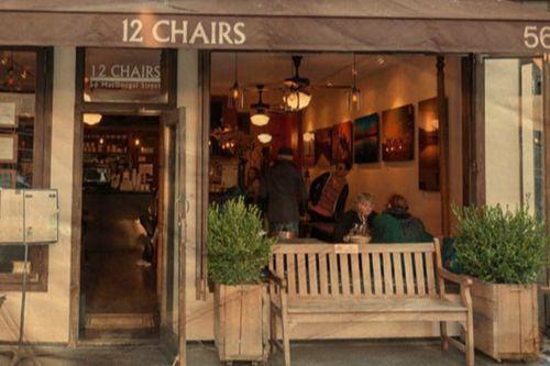 Nyc 12 Chairs Cafe Soho